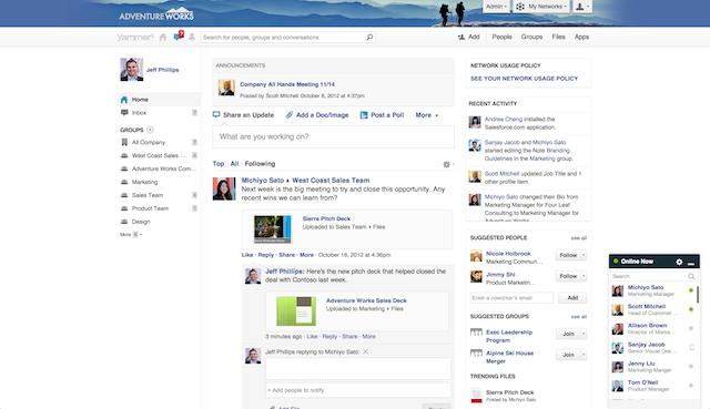 Teams und Projekte: Social-Business-Plattformen im Überblick