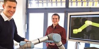 Die Gründer von ArtiMinds Robotics
