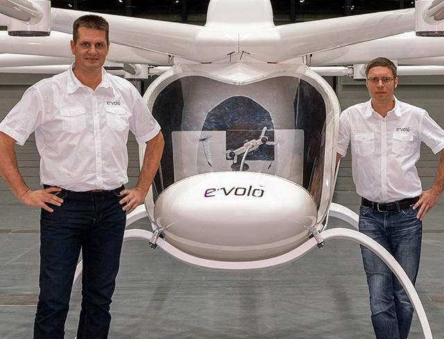 Alex und Stephan von e-volo (Bild: e-volo)