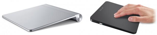 zwei externe Trackpads