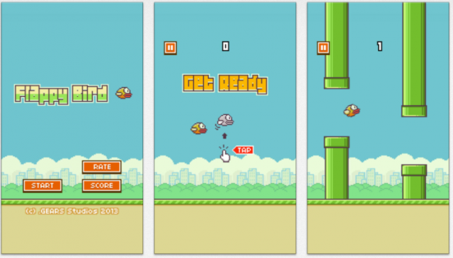 Bild: Flappy Bird Screenshots
