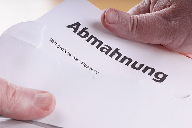 Rechtssicherheit in Social Media: Abmahnung