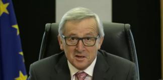 EU-Kommissions-Präsident Jean-Claude Juncker wirbt für den Digital Single Market