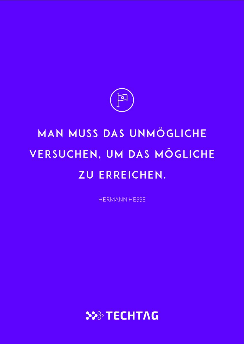 Hermann Hesse Man Muss Das Unmögliche Versuchen Techtag