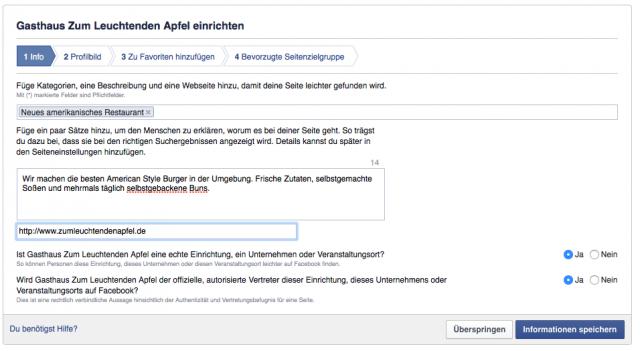 Sichtbarkeit für Unternehmen auf Facebook