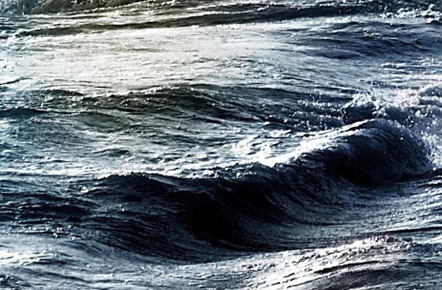 Welle im Ozean