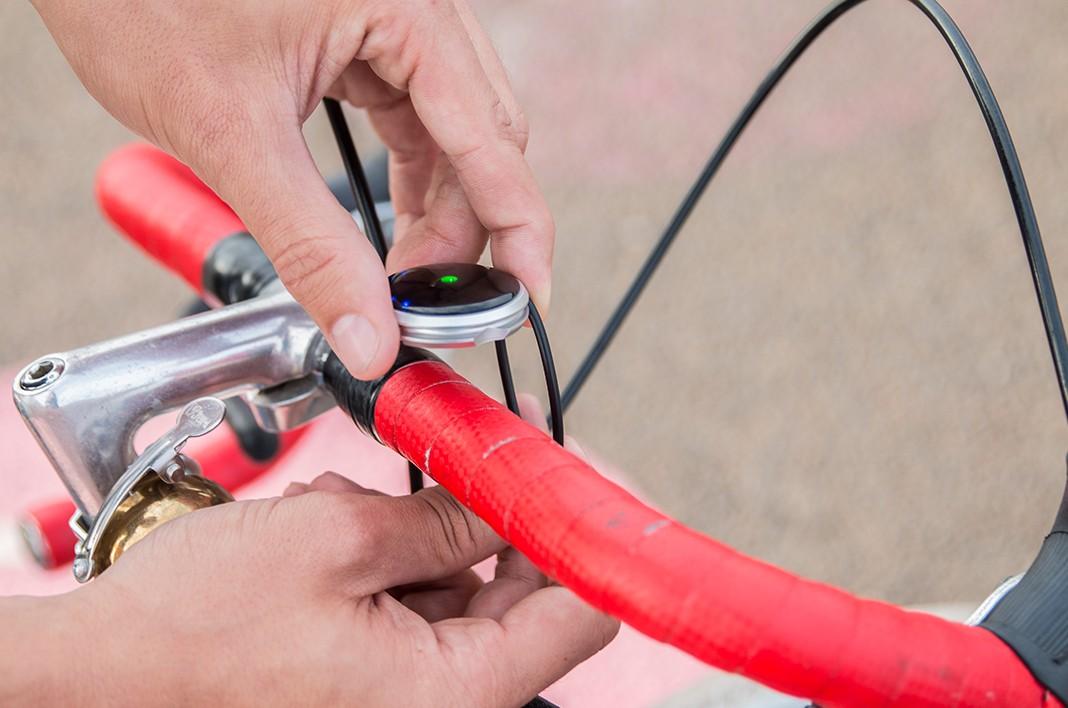Fahrradkompass HAIZE soll durch Funktionalität und Design überzeugen.
