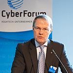 Matthias Hornberger, Vorstandsvorsitzender CyberForum e.V.