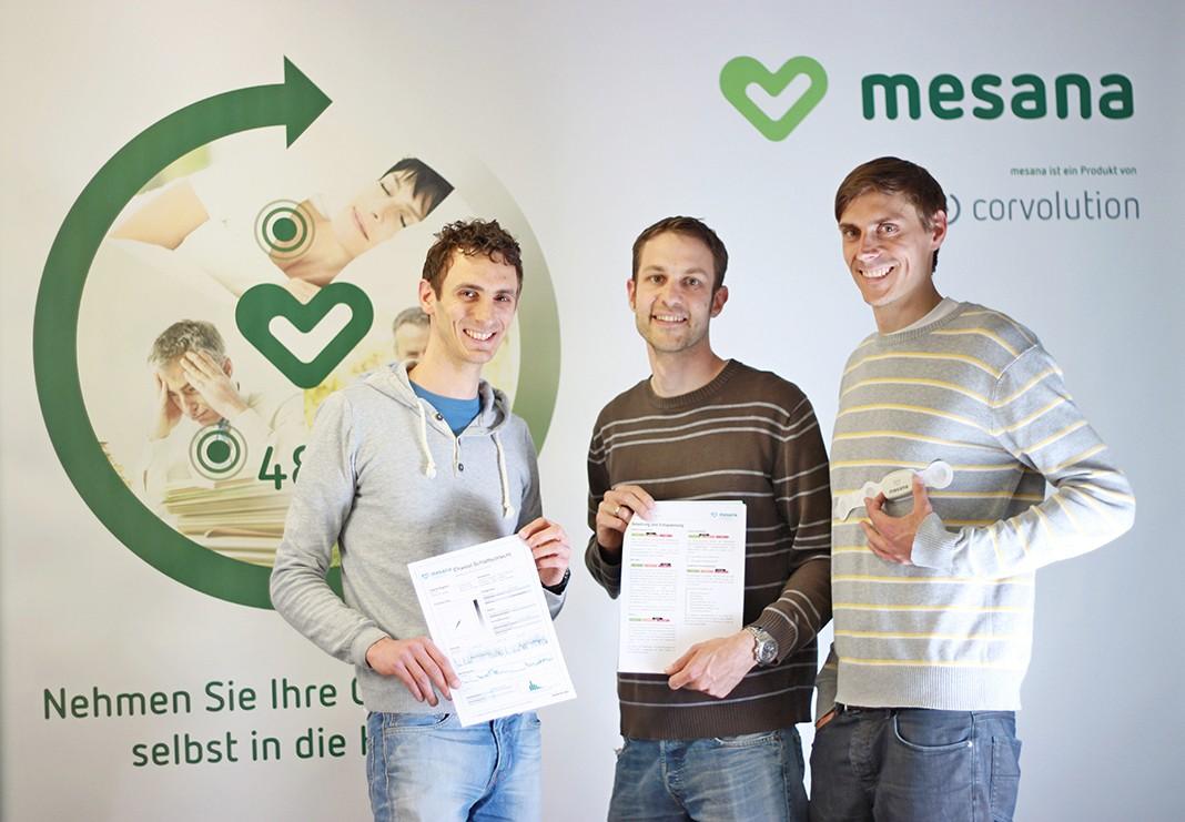 DAs Corvolution Team, die Erfinder von Mesana Team