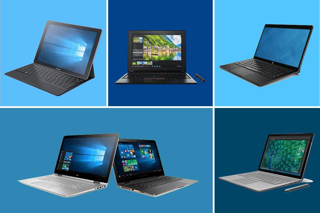 windows 10 die neuen tablet pcs und notebooks. Black Bedroom Furniture Sets. Home Design Ideas