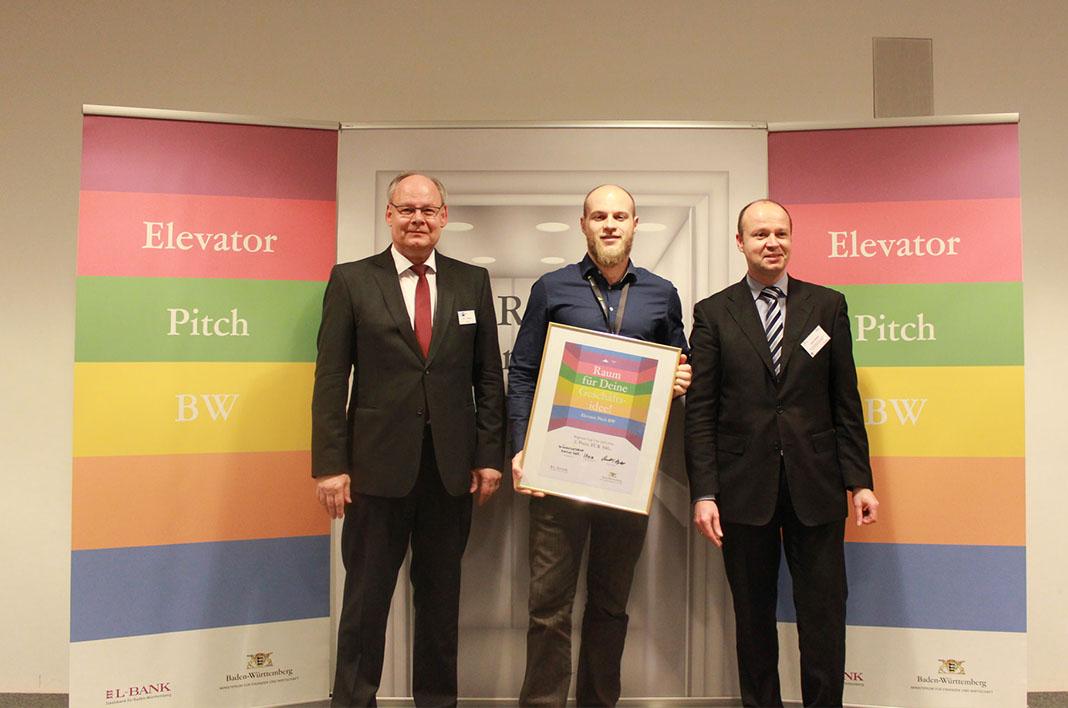 Elevator Pitch Ulm Gründerwerkstatt manus GbR