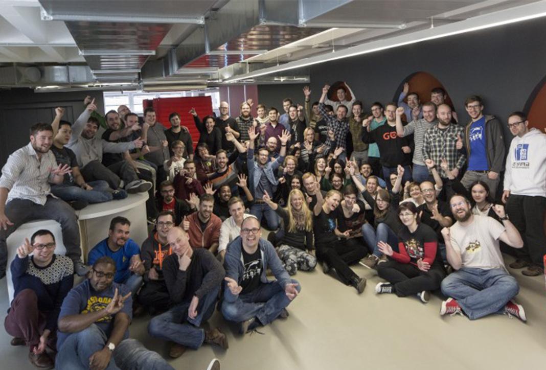 Im Hauptquartier der flaregames arbeiten Mitarbeiter aus gut 30 Nationen.