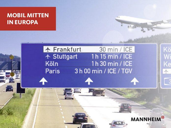 Verkehrsanbindung Mannheim