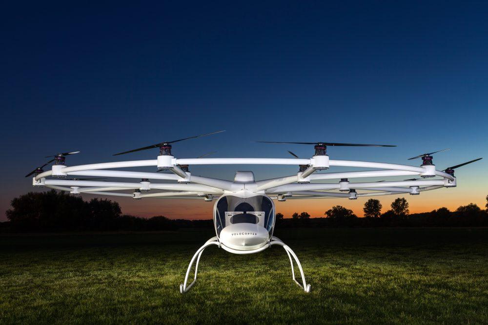Der Volocopter des Karlsruher Startups e-volo © Nikolay Kazakov