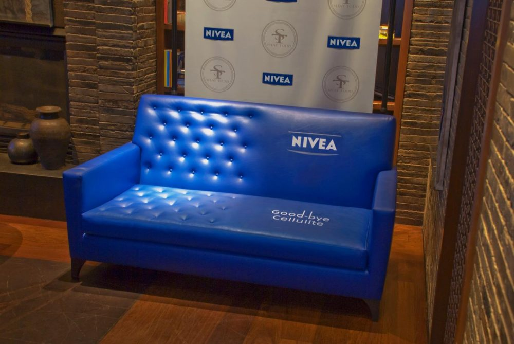 Guerilla Marketing Nivea Couch
