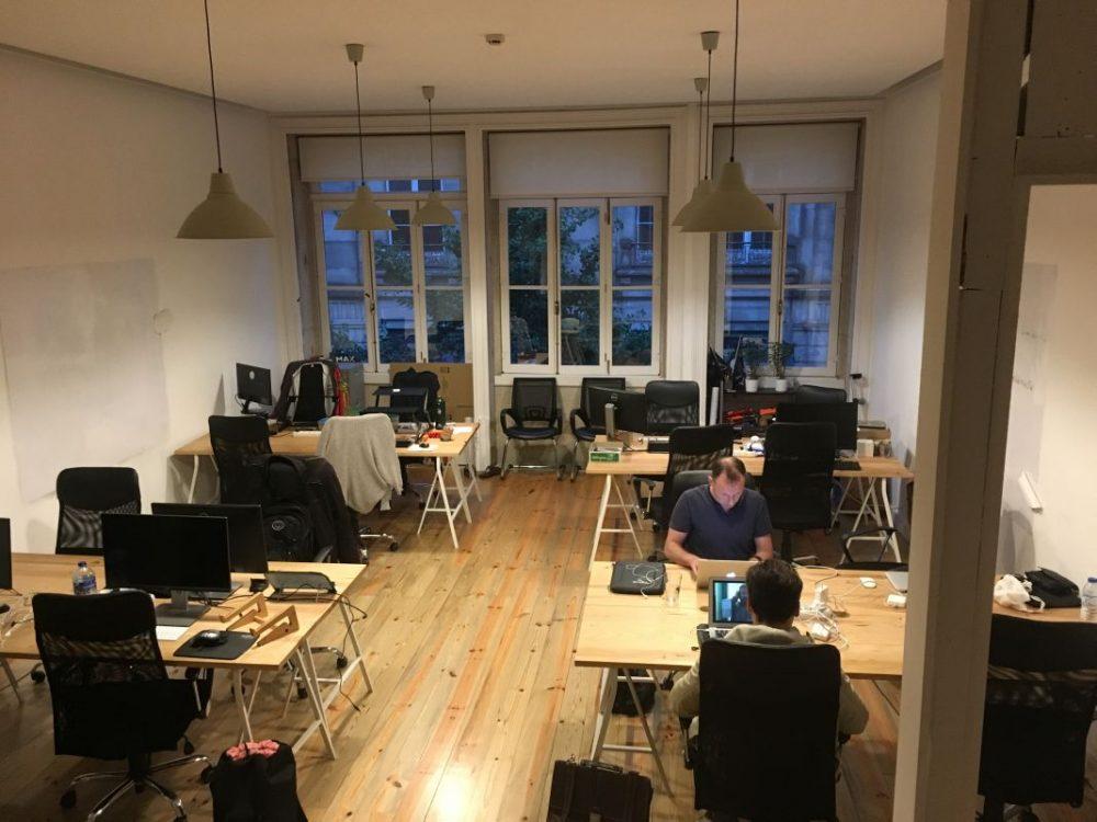Ein Einblick ins Coworking Space Porto i/o Downtown. (Bild: Barbara Przeklasa)