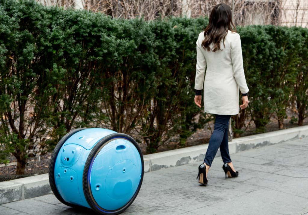Lasten-Roboter GITA soll vor allem dem Menschen schwere Lasten abnehmen.
