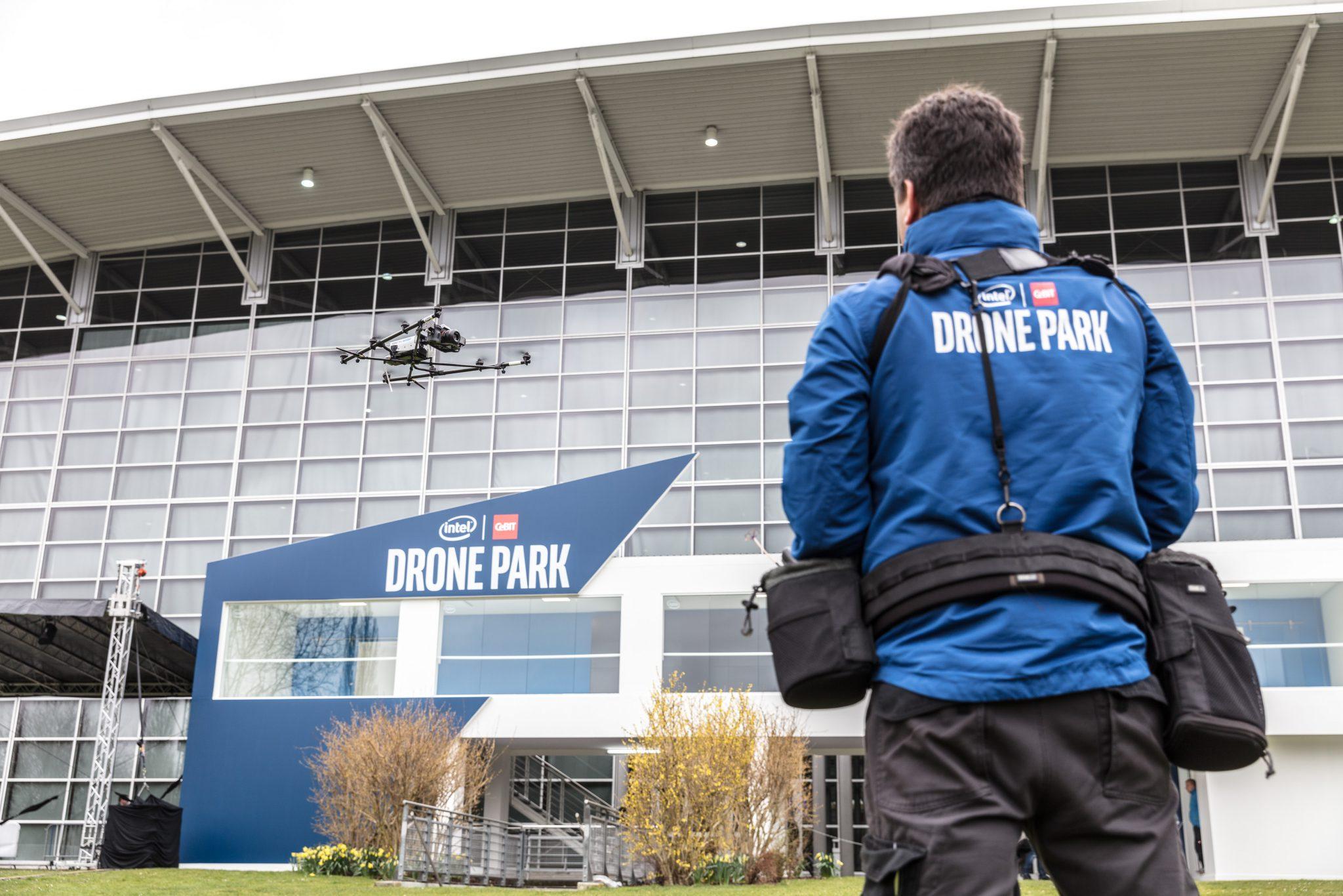 Intel Drohnen Park