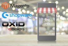 Ein Vergleich der Shop-Systeme Magento, Shopware und Oxid - inklusive informativer Grafiken.