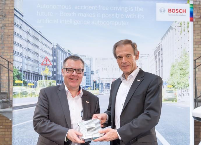 Volkmar Denner Dirk Hoheisel Robert Bosch GmbH