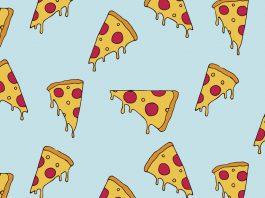 Pizzastücke