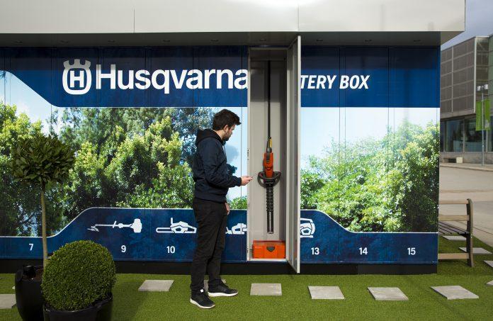 Husqvarna Battery Box - Share Economy