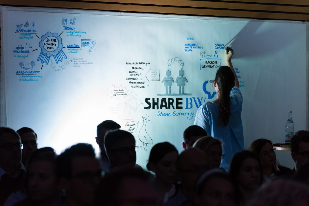 Preisverleihung landesweiter Wettbewerb shareBW