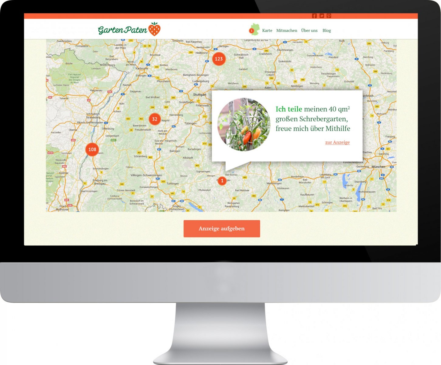 Gartenpaten Website