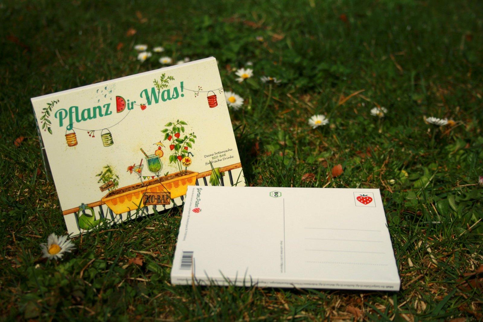 Gartenpaten Postkarten