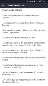 Hush City - eine App sucht nach der individuellen Ruhe.