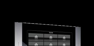 KNX-Panel von Jung