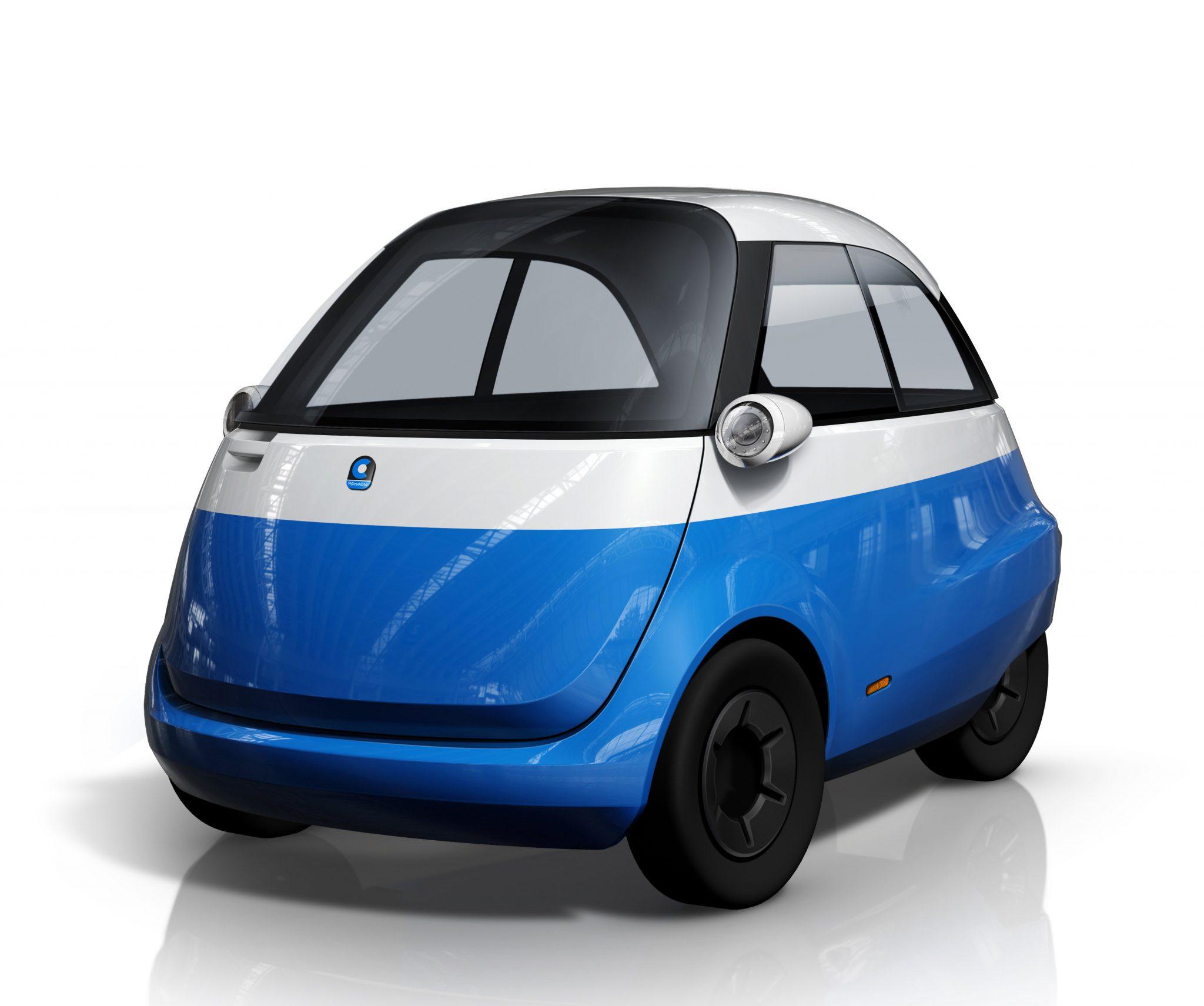 urbane mobilit t microlino das kompakte elektroauto f r. Black Bedroom Furniture Sets. Home Design Ideas