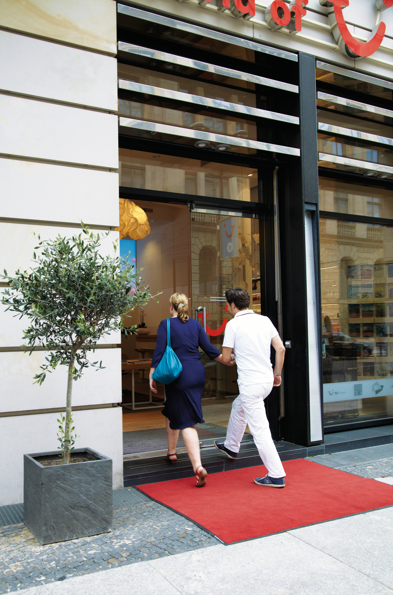 World of TUI Reisebüro in Berlin