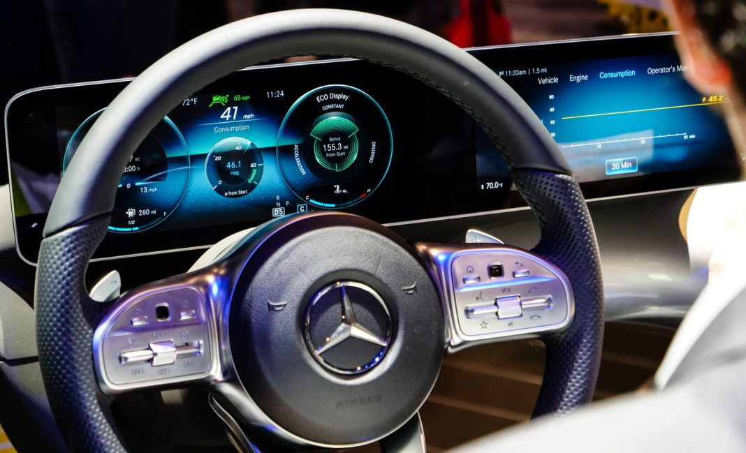 Mercedes-Benz User Experience (MBUX)