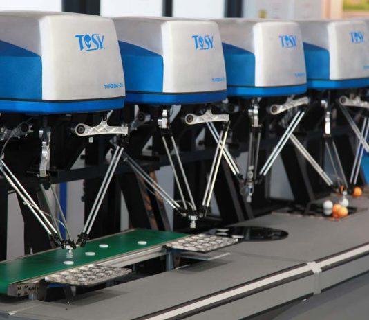 Delta Roboter werden zunehmend in der Produktion und Medizin eingesetzt.
