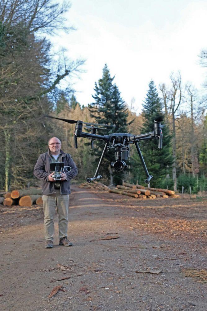 Drohnen in der Forstwirtschaft können dem Wald nicht nur helfen, sie liefern dem Menschen schneller Informationen.