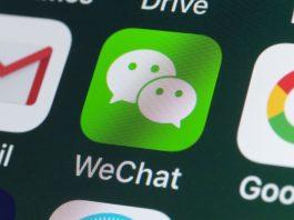 WeChat Registrierung