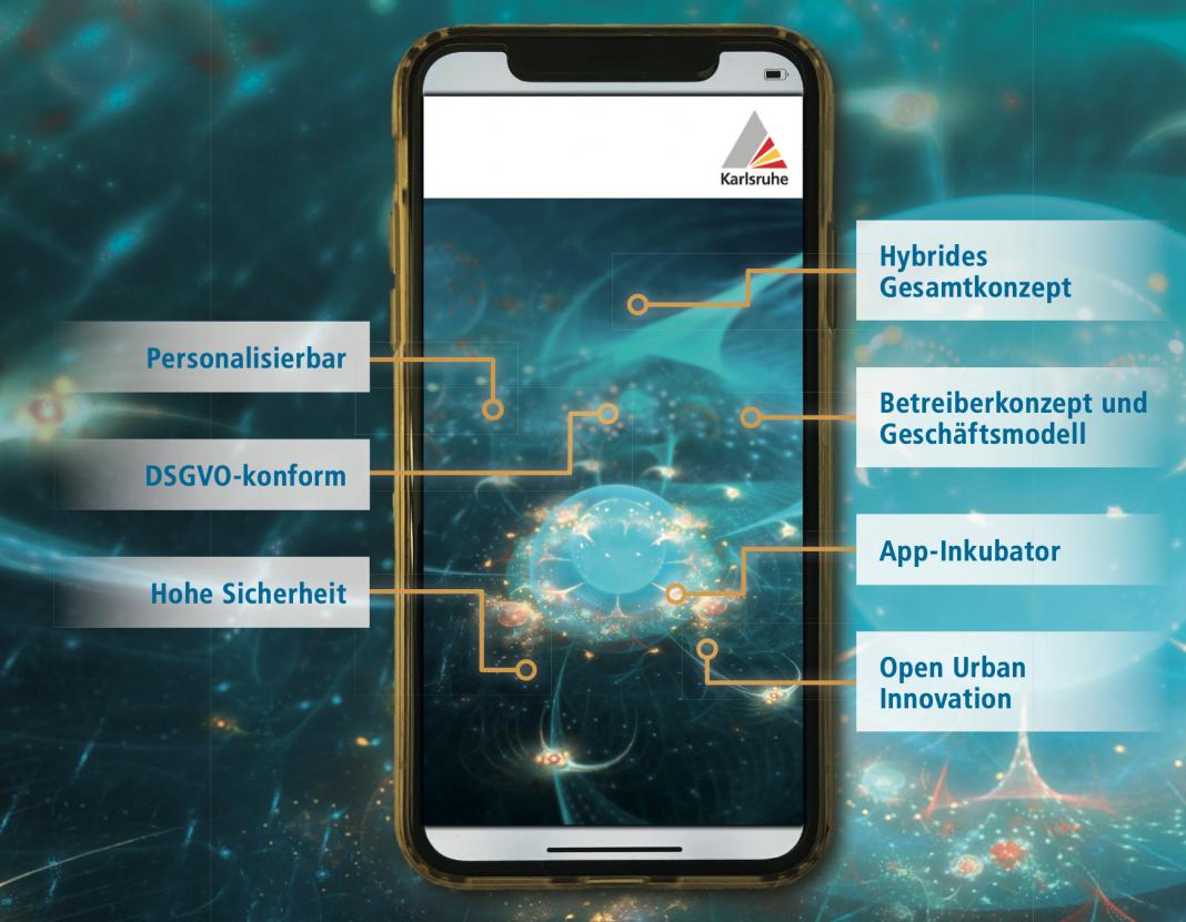 Eine App macht Karlsruhe zur digitalen Stadt