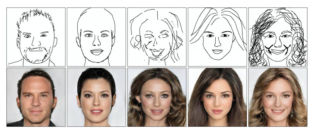 Deep Face Drawing